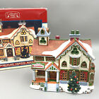 Lemax Village Caddington Collection Village School 1999 Lighted Village School