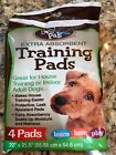 Bow Wow Pals Puppy Dog Extra Absorbent House Training Pads 1 Pack of 4 Pads