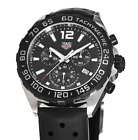 NWT Tag Heuer Formula 1 One Chronograph Black Dial Men's Watch CAZ1010.FT8024