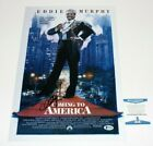 ACTOR EDDIE MURPHY SIGNED 'COMING TO AMERICA' MOVIE POSTER 1 BECKETT COA PROOF