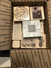 Flower Leaves Garden Wood Mounted Rubber Stamp Lot B38 Stamps