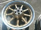 2003 100 anniversary Wheel 9 SPOKE TOURING FLH FLT FLHR FLHRI RoadKing POLISHED