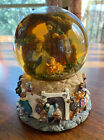 Nativity Silent Night 12687 Bethlehem Christmas Musical Water Snow Globe EUC