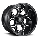 4 20x9 Fuel Gloss Black  Mill Avenger Wheel 6X135  6X1397 For Ford Jeep
