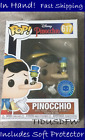 Funko Pop! Disney #617 PINOCCHIO Pop In a Box PIAB Exclusive +Protector IN HAND