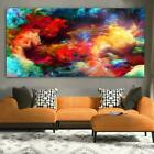 Abstract Clouds of Color Painting