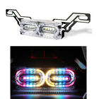 Motorcycle Flashing LED Stop Brake License Plate Light Tail Light For Kawasaki