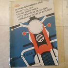 Jawa 350 Parts Manual. Type 634-5-6-8. 1977.