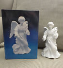 Avon Nativity Collectible STANDING ANGEL porcelain bisque MIB 1987 REDUCED