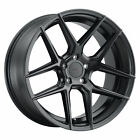 17 TSW Tabac Black Wheels 5x112 VW GTI Jetta Audi A3 SET OF 4