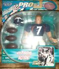 John Elway Starting Lineup Pro Action Figure!! 1 Of NFL's All-Time Top 100 QB'S