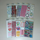 Huge Lot of Planner Stickers Recollections 10 Packs 2000+ Stickers