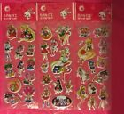 3Set Sailor Moon Puffy Stickers