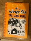 Diary of a Wimpy Kid The Long Haul by Jeff Kinney Signed 2014 Hardcover