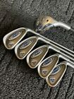 Ping G5 Hybrid Irons Golf Set 5 Hybrid  6 PW Purple Dot SteelFiber i80 Shafts