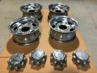 00 04 Ford F250 Super Duty USED Set Of 4 Aluminum Wheels 16x7 8 Lug w Caps