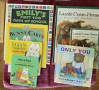 Lot 7 Rosemary Wells board picture Max Ruby Lassie 100 days pre school+