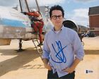 JJ J.J. ABRAMS SIGNED 8X10 PHOTO STAR WARS TREK BECKETT BAS AUTOGRAPH AUTO AO