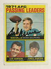 Bob Griese Cards, Rookie Card and Autographed Memorabilia Guide 44