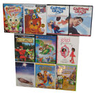Kids Children Cartoons Movie DVD Lot 10 DVDs Robin Hood Joseph Birth of