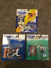 1992 1996 1997 Starting Lineup Lot Brian McRae, Hal Morris, Kerry Collins