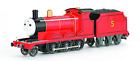 Bachmann HO Scale Thomas & Friends James Engine W/ Moving Eyes & Tender #58743