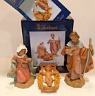 Fontanini by Roman Classic Holy Family Nativity Set 3 Piece 5 Inch NEW