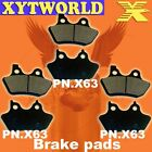 FRONT REAR Brake Pads for Harley Davidson FLHRCi Road King Classic 2000-2006