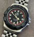 Tag Heuer 374.513 Formula 1 Black/ Red Dial+ Bezel Stainless Steel Midsize Watch
