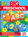 School Zone Big Preschool Workbook Ages 3 5 Colors Shapes Numbers 1 10