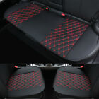 Deluxe Car Seat Cover Set Pu Leather Universal Pad Mat For Auto Chair Cushion