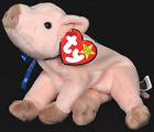 TY Beanie Baby - KNUCKLES the Pig (6 inch) - MWMTs Stuffed Animal Toy