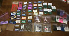 Huge Lot Embossing Powders Glitter Metal Templates Stamping Crafts NO RESERVE
