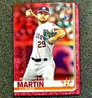 Corbin Martin 2019 Topps Update US171 Mothers Day Pink Parallel 50 50 Astros RC
