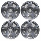 4 Qty 17 2002 2006 Chevrolet Avalanche 1500 Alloy Wheel Rim 5130