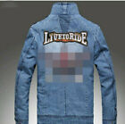 LIVE TO RIDE Large Biker Back patch Quality Iron Sew on logo motorcycle B051