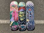 Lot of 3 Used Skateboard Decks For Art Project Zero Primitive Chris Cole