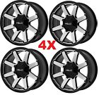 17 ALLOY WHEELS RIMS 6X1143 6X45 XD FUEL MOTO OFF ROAD