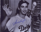 Sandy Koufax Signed 8x10 COA Auto Autographed 1st to Pitch 2 Perfect Innings NL