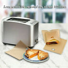 2PCS Reusable Non stick Grilled Toast Bag High Temperature Grilled Barbecue Bag