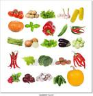 Set With Vegetables Art Canvas Print Poster Wall Art Home Decor I