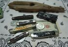 5 CASE XX KNIFE KNIVES w Bone Scales ALL 5 TIGHT Springs SNAP Please have a LK