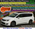 2018 Chrysler Pacifica Hybrid Limited below $12400 dollars