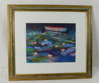 Beautiful Signed Watercolor by Beverly Perdue of Midlothian VA Framed