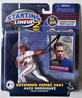 2001 Starting Lineup 2 Extended Series Alex Rodriguez Texas Rangers MLB Figure