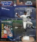 DEREK JETER 1999 STARTING LINEUP BASEBALL FIGURE NY YANKEES New HOF