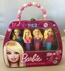 BARBIE LIMITED EDITION 2012 PEZ TIN PURSE 4 DISPENSERS + CANDY GIFT SET NEW