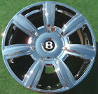 NEW Factory Chrome Bentley Wheel Flying Spur Genuine OEM Continental 3W0601025AA