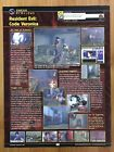 Resident Evil Code Veronica Single Page Preview Dreamcast 2000 Print Ad Poster