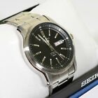 Seiko 5 Black Dial Day Date Automatic Men's Watch SNKP11K1